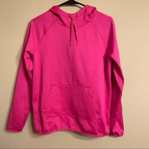 Nike Pink Therma Fit Hoodie Size S